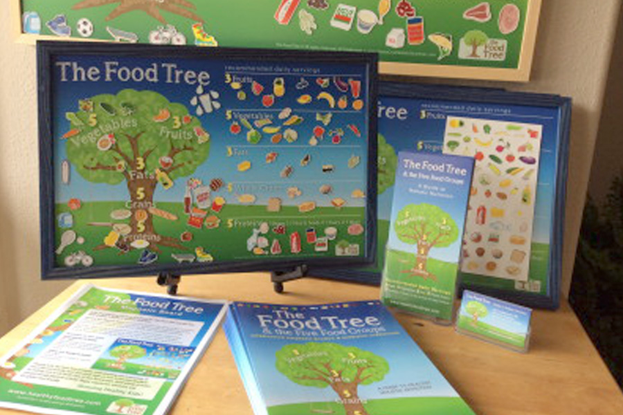 The Food Tree Magnetic Board