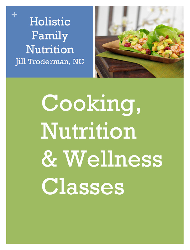 Nutrition classes in Santa Cruz by Jill Troderman